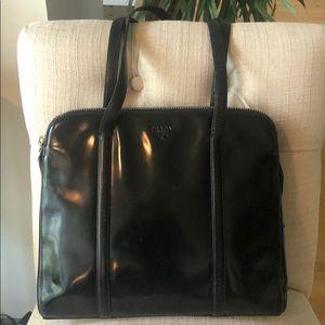 Beautiful Patton leather Authentic Prada bag